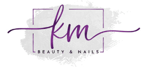 KM Beauty & Nails-logo